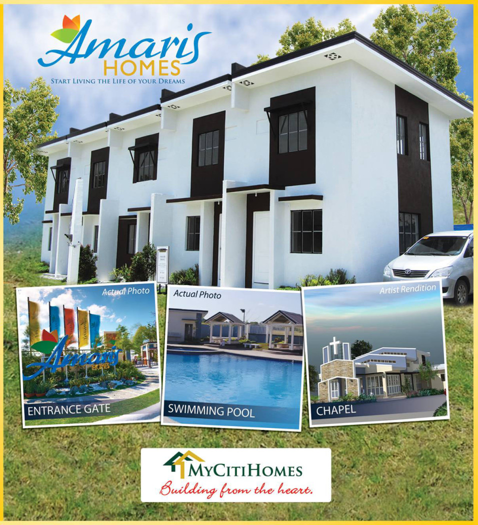 Amaris Homes - Two Storey Townhomes in Molino, Bacoor City, Cavite