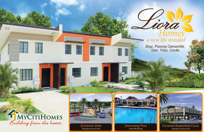 Liora Homes – Brgy. Pasong Camachile, Gen. Trias, Cavite