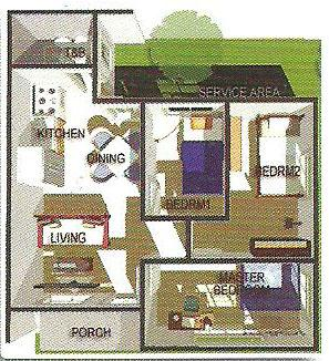 Affordable House Plans 3-Bedroom